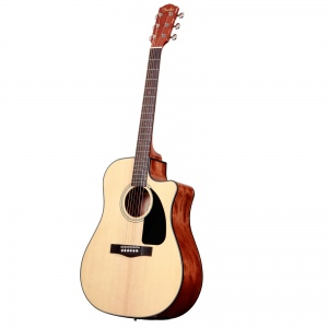 FENDER CD-60CE DREADNOUGHT NATURAL W/FISHMAN MINIQ PREAMP гитара
