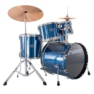 Sonor 17206308 SFX 11 Stage 2 Set WM NC 13004 Smart Force Xtend Барабанная установка, синяя, б/тар.