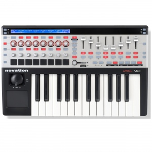 Novation 25 SL MkII USB MIDI контроллер, клавиатура Fatar