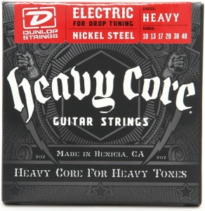 DUNLOP DHCN Heavy Core NPS HEAVY 10-48 струны для эл. гитары
