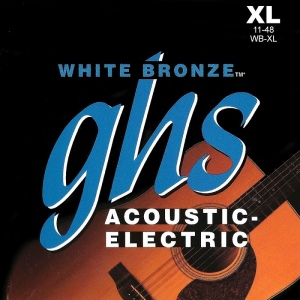 GHS STRINGS WB-XL WHITE BRONZE набор струн 11-48