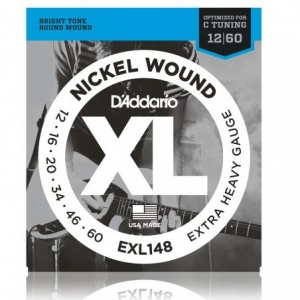 D`ADDARIO EXL148XL NICKEL WOUND струны для электрогитары 12-60