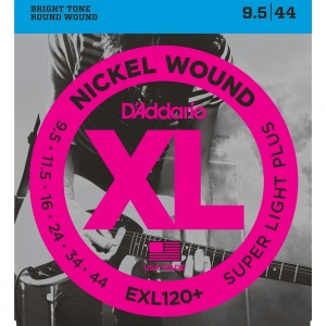 D`ADDARIO EXL120+ Nickel Wound Комплект струн для электрогитары