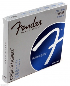 FENDER STRINGS NEW ORIGINAL BULLET 3150R струны для электрогитары