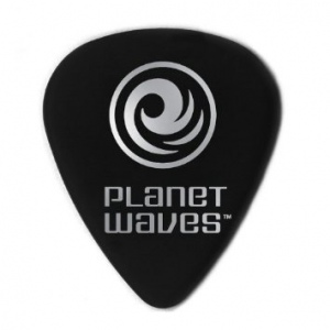 Planet Waves 1CBK7-10 Celluloid Extra Heavy медиатор, черный.