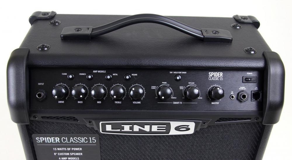 LINE 6 SPIDER V 15 CLASSIC моделирующий гитарный